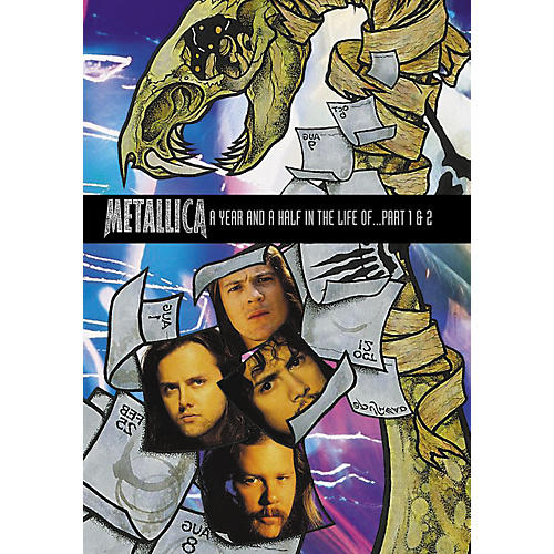 Alfred A Year and Half In the Life of Metallica 2-DVD Set-thumbnail
