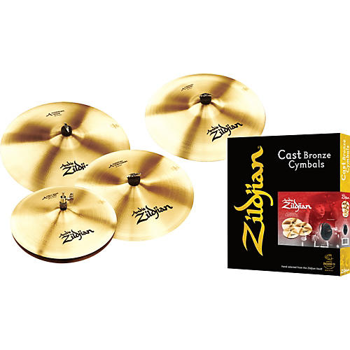Zildjian A Zildjian Bonus Box Set with Free 18