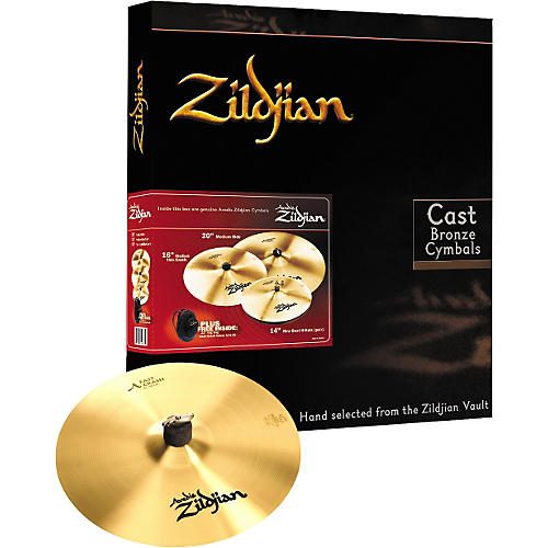 Zildjian A Zildjian Cymbal Pack with Free Fast Crash Cymbal