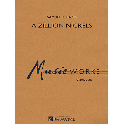 Hal Leonard A Zillion Nickels Concert Band Level 3-thumbnail