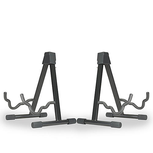 Musician's Gear A-frame Stand for Acoustic, Electric, and Bass Guitars (2 Pack)-thumbnail