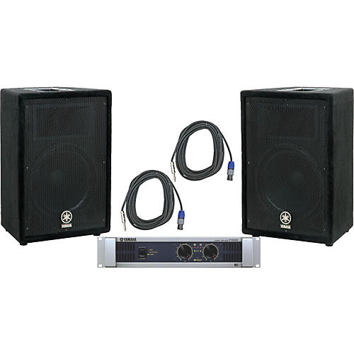 Yamaha A12 / P3500S Speaker & Amp Package