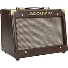 Acoustic A15 15W 1x6.5 Acoustic Instrument Combo Amp Brown