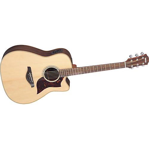 Yamaha A1R Dreadnought Acoustic-Electric Guitar with Hardshell Guitar Case