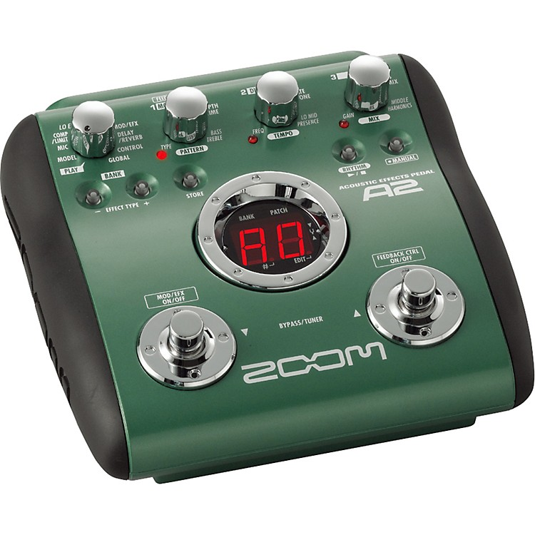 Zoom A2 Acoustic Guitar Multi-Effects Pedal