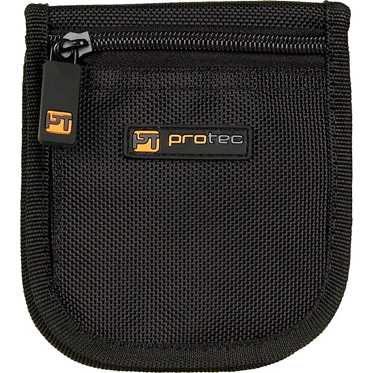 Protec A219 Small Brass 3-Mouthpiece Zipper Pouch