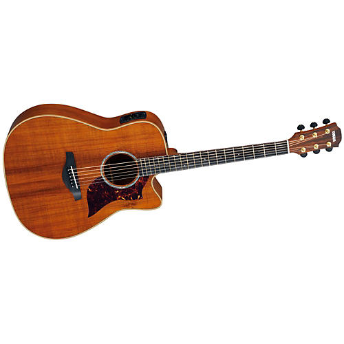 Yamaha A4K Folk Cutaway Acoustic-Electric Guitar