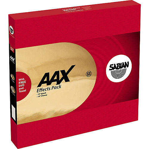 Sabian AA 2-Piece Effects Cymbal Pack