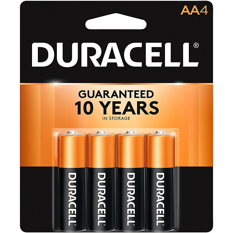 Duracell AA Batteries 4-Pack