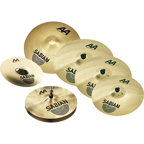 Sabian AA Cymbals Super Set with Free 10