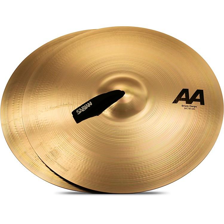 SabianAA Drum Corps Cymbals20 Inch Brilliant Finish