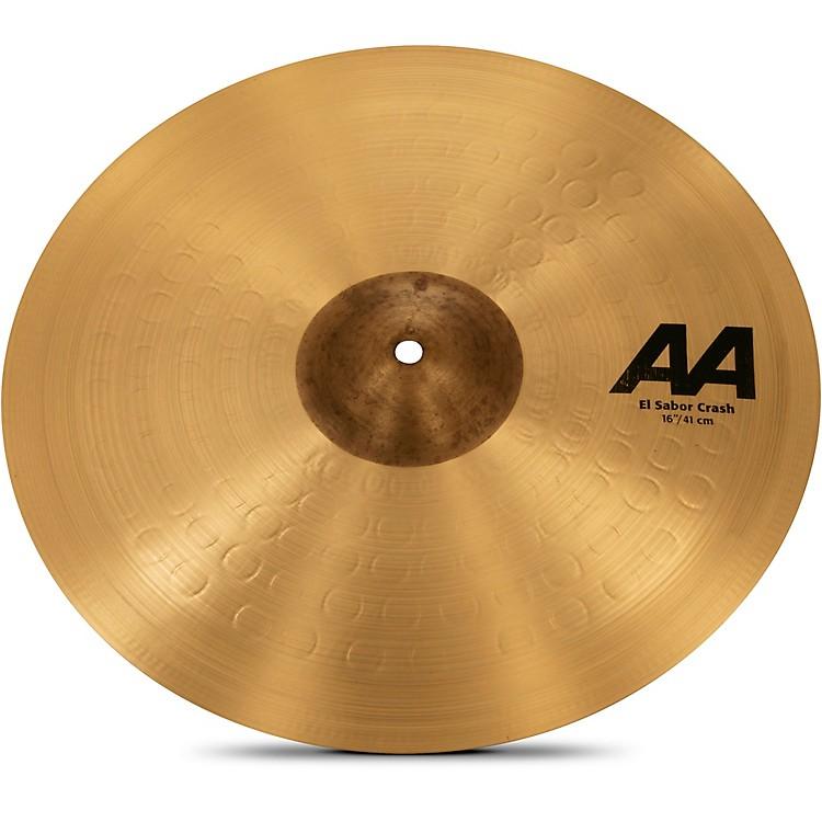 SabianAA El Sabor Crash Cymbal16 Inches