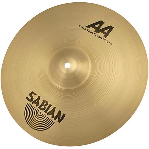 Sabian AA Extra Thin Crash Cymbal Brilliant-thumbnail