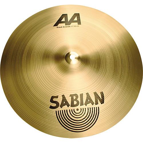 Sabian AA Fast Crash Cymbal