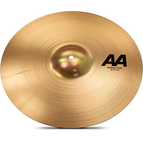 Sabian AA Medium Crash Brilliant 18 in.