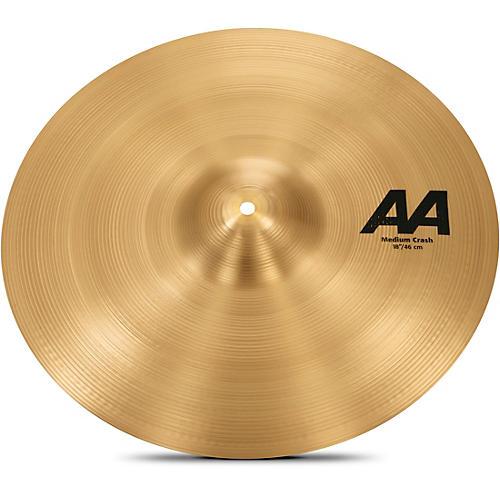 Sabian AA Medium Crash Cymbal-thumbnail