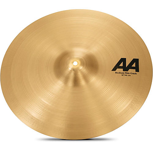 Sabian AA Medium Thin Crash  18 in.