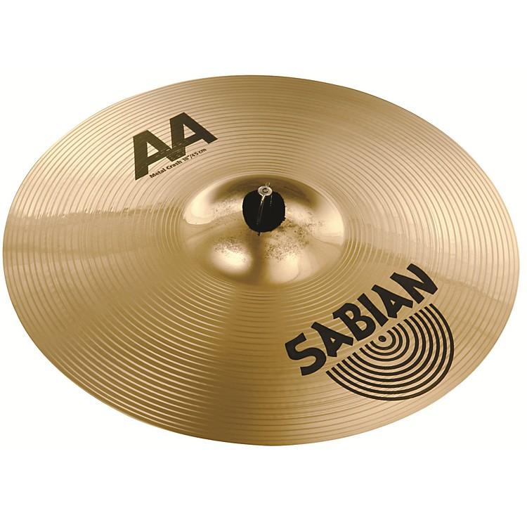 SabianAA Metal Crash Cymbal19 Inch