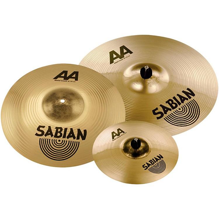 SabianAA Metal Crash Pack with free 10