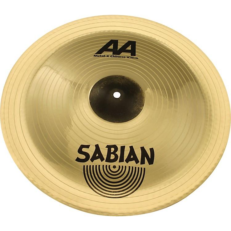 SabianAA Metal-X Chinese Cymbal