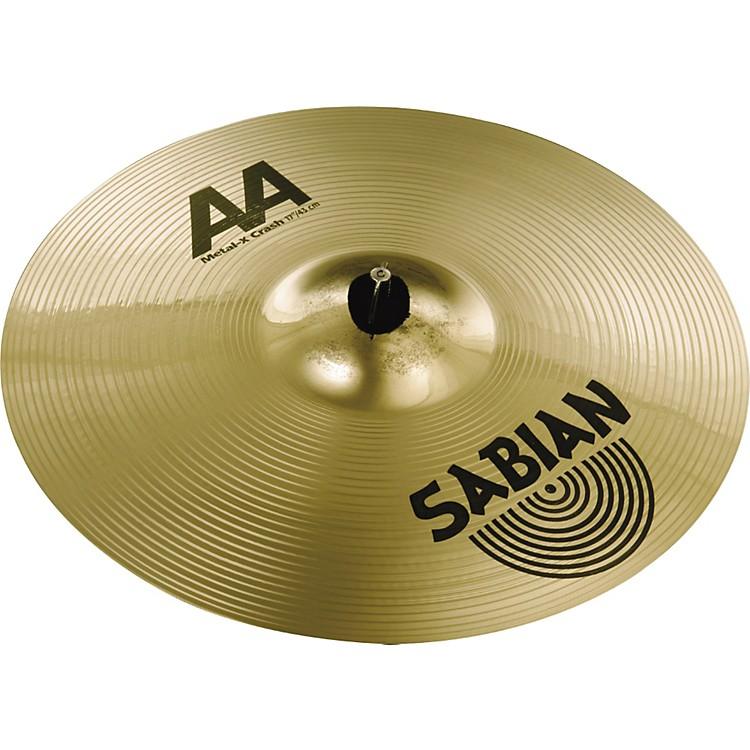 SabianAA Metal-X Crash Cymbal
