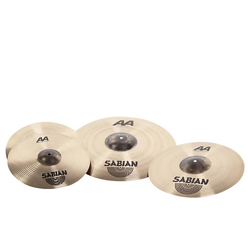 Sabian AA Metal-X Performance Set Cymbal Pack