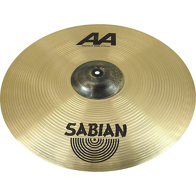 Sabian AA Metal-X Ride Cymbal  21 Inches