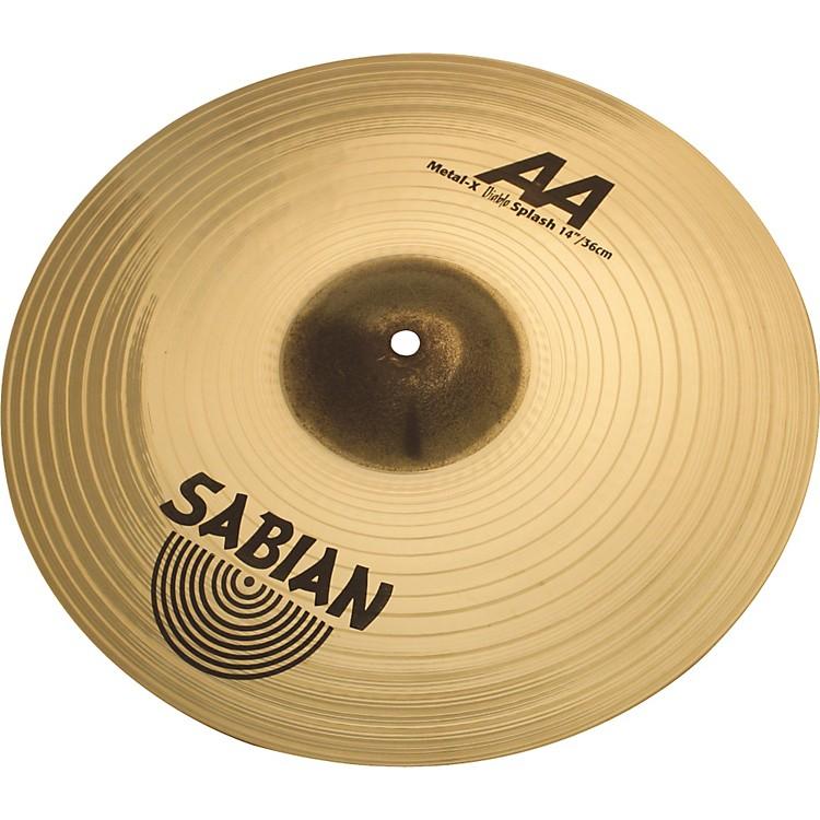 SabianAA Metal-X Splash14