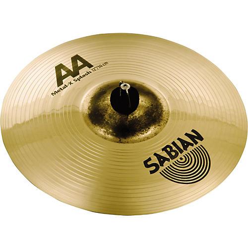 Sabian AA Metal X Splash Cymbal  12 in.
