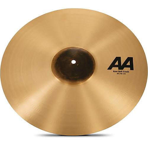 Sabian AA Raw Bell Crash Cymbal 18 in.-thumbnail