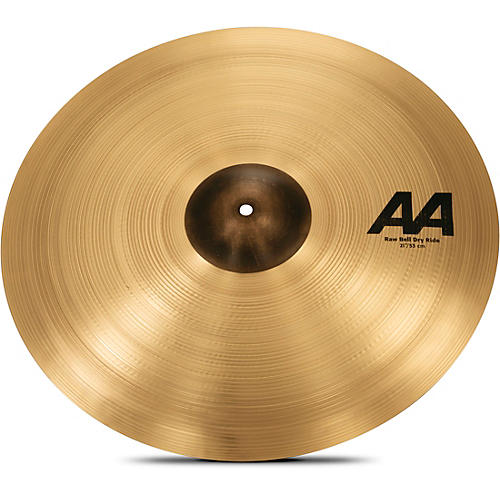 Sabian AA Raw Bell Dry Ride Cymbal  21 Inches
