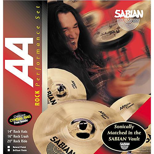 Sabian AA Rock Performance Pack with Cymbal Bag-thumbnail