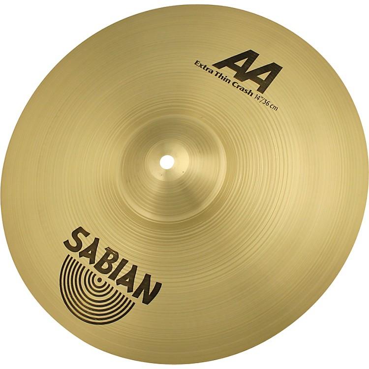 SabianAA Series Extra Thin Crash Cymbal14 Inches