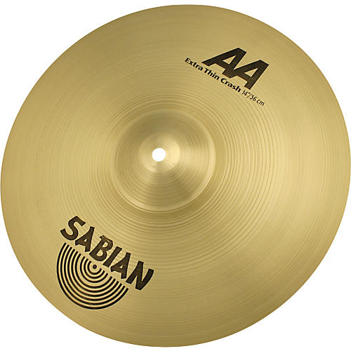 Sabian AA Series Extra Thin Crash Cymbal