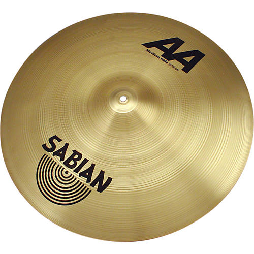 Sabian AA Series Medium Ride Cymbal  20 Inches