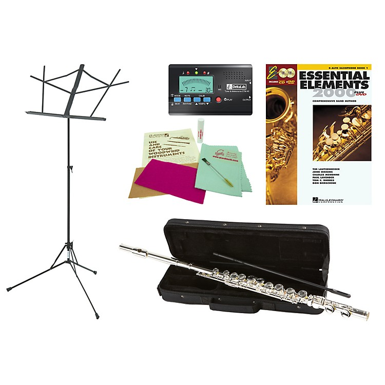 Allora AAFL-229 Beginner Student Flute Bundle
