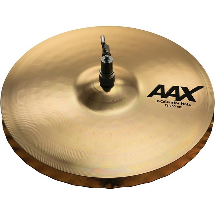 SabianAAX-Celerator Brilliant Hi-Hat Cymbals13 Inch