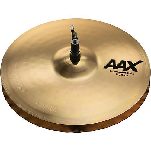 Sabian AAX-Celerator Brilliant Hi-Hat Cymbals 13 in.
