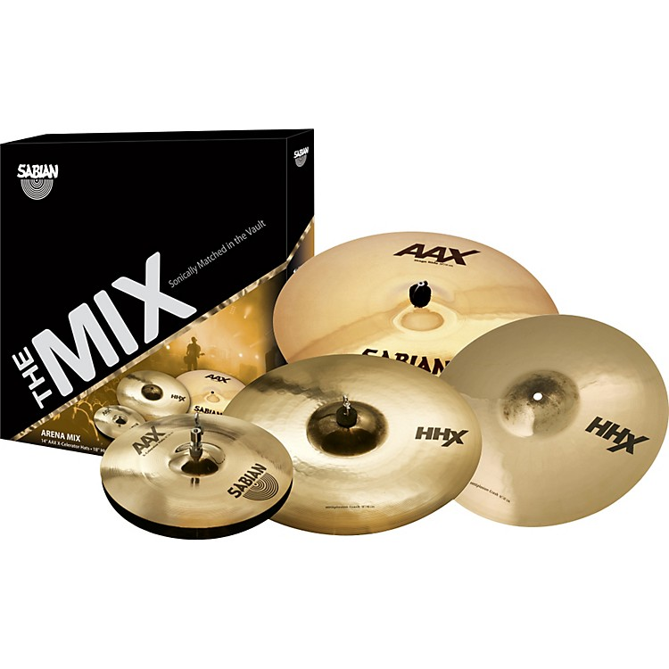 Sabian AAX/HHX Mix Cymbal Pack