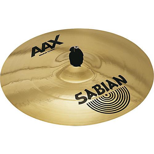 Sabian AAX Metal Crash 19 in. Brilliant Finish