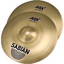 Sabian AAX New Symphonic Medium Heavy Cymbal Pair Level 1 17 in.