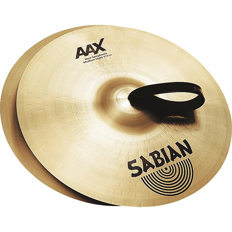 SabianAAX New Symphonic Medium Light Cymbal Pair22 Inch