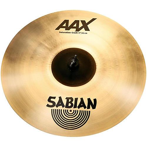 Sabian AAX Saturation Crash Cymbal 17 in.