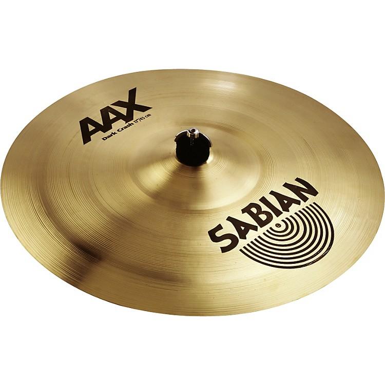 SabianAAX Series Dark Crash Cymbal18 Inches