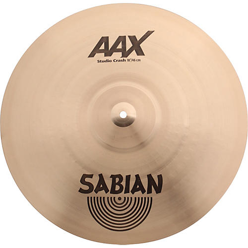 sabian aax series studio crash cymbal musician 39 s friend. Black Bedroom Furniture Sets. Home Design Ideas