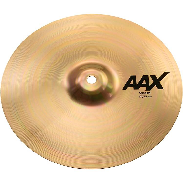 SabianAAX Splash CymbalBrilliant10 Inches