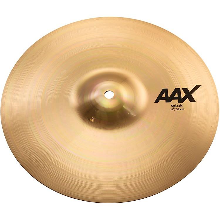 SabianAAX Splash CymbalBrilliant12 Inches