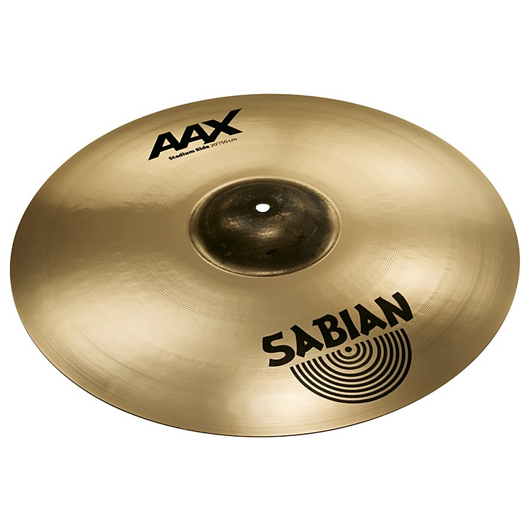 Sabian AAX Stadium Ride Cymbal Brilliant Finish 20 Inch Brilliant