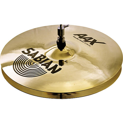 Sabian AAX Stage Hi-Hat Cymbals Brilliant 14 in.