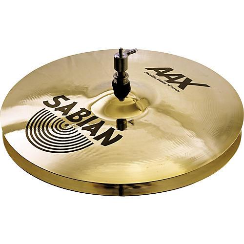 Sabian AAX Studio Hi Hats  14 Inches